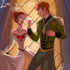 Love is an Open Door <3