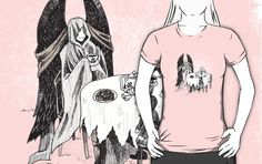 """""""Tea Time"""" T-Shirts & Hoodies by AriesNamarie 