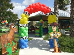 toy story balloons | Show as slideshow]