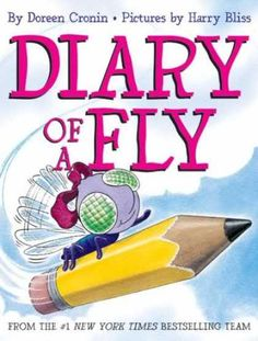 Diary of a Fly by Doreen Cronin reviewed by Katie Fitzgerald @ storytimesecrets.blogspot.com