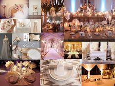 Heather and Byron inspiration board 1 600x450 Rose Gold and Grey Inspiration Board