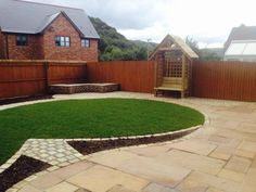 Another complete #Garden makeover in Cardiff from Green and Clean Landscapes.  www.greenandcleanlandscapes.co.uk