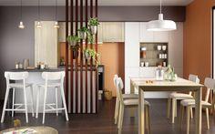 Konyha, konyhabútor ötletek - színek, anyagok, elrendezés, kombinációk - Mobalpa