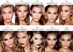 A linha de maquiagem da Charlotte Tilbury   Dia de Beauté
