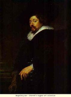 Peter Paul Rubens. Self-Portrait. Olga's Gallery.