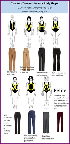how to choose the best trouser for your body type