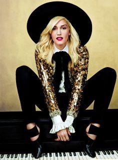 Vogue, April 2013  gwen stefani by Annie Leibovitz