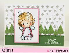 Risultati immagini per cc design stamps angel