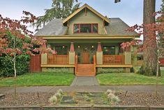 My bungalow exterior.