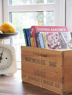 gute Aufbewahrung für Kochbücher