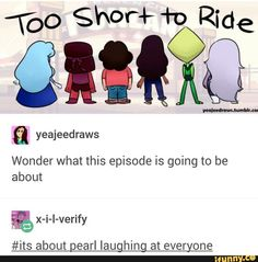 Well Ruby and Sapphire can guide as Garnet.. And Steven and Connie can fuse as Stevonnie.. But Amethyst and Peridot.... Are they going to fuse?: