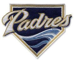 San Diego Padres Wave MLB Baseball Team Logo Patch - Primary Sleeve 2011-2012