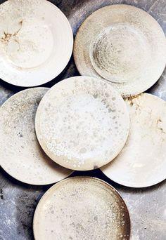 Würtz Form, DK, designing stoneware for Noma and Geranium / #details #art #home