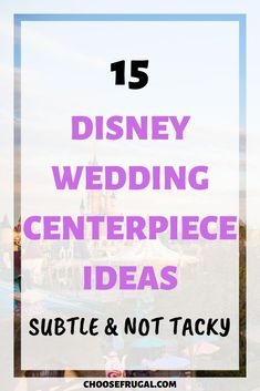 These Disneyland wedding centerpiece ideas for perfect for anyone who wants a Disney wedding without looking like a kid's birthday party. Add Cinderella, Aladdin, or Lion King into your wedding in a subtle and non tacky way. Make your wedding reception stand out with classy wedding centerpieces representing your fave Disney movie. #weddingtips #weddingideas #disney Disney Wedding Centerpieces, Cheap Wedding Decorations, Wedding Reception On A Budget, Wedding Tips, Lion King Wedding, Diy Wedding Projects, Centerpiece Ideas, Aladdin, Weddingideas