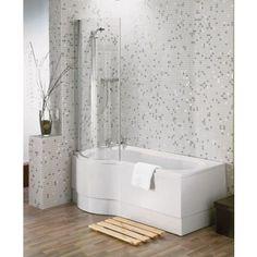 Beresford Shower Bath - Left Hand - 1700mm