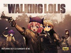 the walking lolis??!!! -. -anime-gakkou gurashi!!!