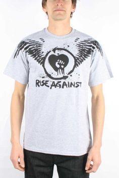 Rise Against - - Paperwings Men's T-Shirt in der Holzkohle, http://www.amazon.de/dp/B003ZZST5U/ref=cm_sw_r_pi_awdl_.yh6wbYCVNS2A