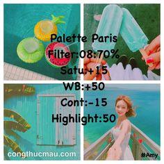 Tổng hợp Công thức Palette đủ tone màu đẹp - Công thức màu
