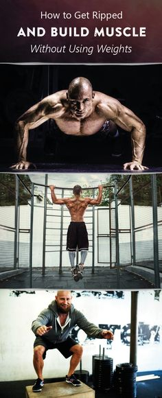 Contrary to common belief, you DONT need weights to get ripped. Find out how some of the worlds top physiques stay lean without ever picking up a barbell. #gains #fitness