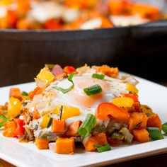 Sweet Potato Breakfast Hash | This Sweet Potato Hash Is The Easy, Heart Breakfast From Your Dreams