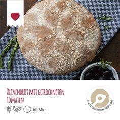 Rezept Olivenbrot mit getrockneten Tomaten vom Foodblog Küchenmomente