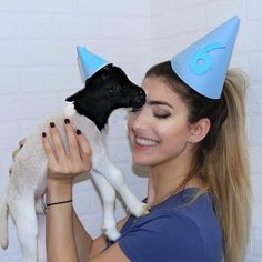 OH MY GOODNESS GUYS WE HIT 6 MILLION LEVINATORS!! I decided to celebrate with this little cutie and get matching hats (he's my 4 day old lamb named Alo) LET ME SEE YOU WITH A 6 HAT! IM IN COMPLETE SHOCK that our little LEVINATION grew to 6 million people I did not see this day coming but I am so grateful that it did! I love each and every one of you so much you're my family, thank you for making me who I am today and being my role models through it all and letting me know that everything is…
