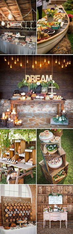 26 inspiring wedding food dessert table ideas #weddingideas