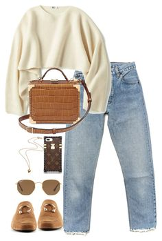 """""""Untitled #4794"""" by theeuropeancloset ❤ liked on Polyvore featuring Uniqlo and Ray-Ban"""