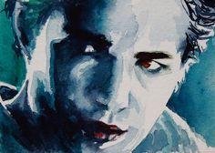 Twilight original painting - Edward by christydekoning, via Flickr