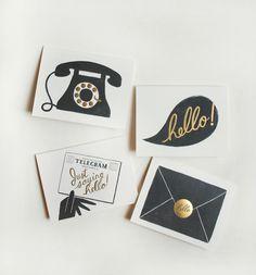 "Assorted ""Hello"" Card Set"