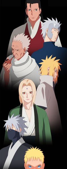 all of the hokage are so interesting i love each character