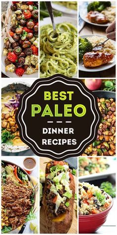 The Top 50 Tastiest Paleo Dinners Ever!- The Top 50 Tastiest Paleo Dinners Ever! Everyday Maven EverydayMaven Beautiful Paleo Eats The Top 50 Tastiest Paleo Dinners Ever! Menu Dieta Paleo, Paleo Menu, Paleo Cookbook, Paleo Meal Plan, Paleo Food, Eating Paleo, Low Carb Paleo Diet, Simple Cookbook, Aip Diet