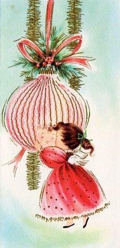 Tarjetas de Navidad de la vendimia