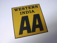 THE AUTOMOBILE ASSOCIATION OF WESTERN INDIA