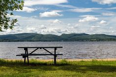 Picnic table with the perfect view #picnic tables #picnics #picnic table