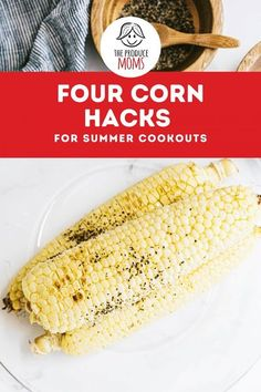 No cookout is complete without golden, buttery sweet corn! We've teamed up with the sweet corn experts at Dandy to bring you four corn hacks for making the most delectable corn on the block! Get these incredible hacks to add to your summer recipe box! Vegetarian Recipes, Healthy Recipes, Best Side Dishes, Corn Recipes, Summer Recipes, Party Recipes, Grilling Recipes, Easy Meals, Sweet Corn