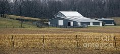 This picture perfect barn catches your eye as you travel on Ludlow Road in Champaign County, Ohio. It's still a few days before Spring, but crops will be planted soon.