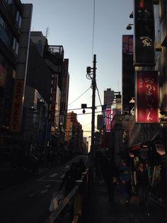 2013.12.07  今日の横浜。すっかり日が短くなりましたねえ。冬本番も間近。