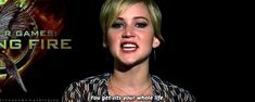 She's a great motivational speaker to the youth of our generation. | 35 Ways In Which Jennifer Lawrence Is Just Like Us