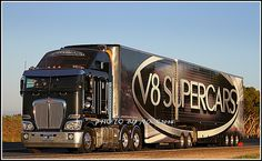 """V8 Supercar Transporter"", Kenworth K200, Australia, pinned by Ton van der Veer"