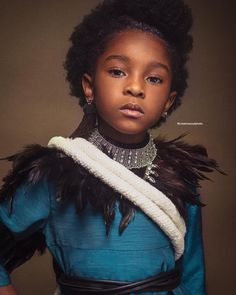 Baroque-inspired portraits of black girls highlight the beauty of natural hair | Metro News UK