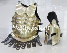 COLLECTIBLES ROMAN MUSCLE ARMOUR BREASTPLATE JACKET SPARTAN MOVIE COSTUME GIFT