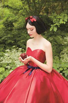 クラウディアからディズニープリンセスのウエディングドレス、シンデレラや白雪姫など6作品をモチーフに 写真10
