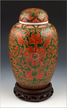 Fine 19th Century Antique Chinese Porcelain Ginger Jar