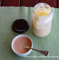 Home made chipotle mayo - www.cooks-notebook.com.au