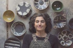 This lady and her dishes... swoon over Melissa Weiss pottery