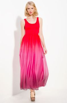Alice + Olivia 'Claire' Maxi Dress