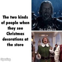 This year I'm elf.