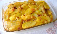 Zapečené brambory se zelím