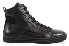 Hogan Shoes Leather Rebel High Top (HXW1410A98063RB999GR)  http://www.outletdelfashion.it/woman-shoes/?p=710